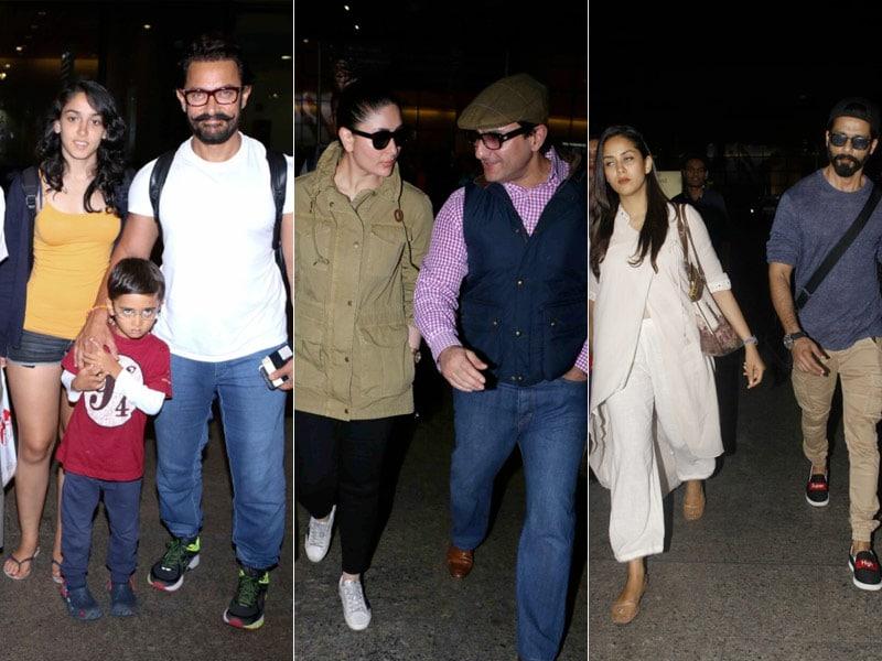 Aamir-Kiran, Saif-Kareena And Shahid-Mira's Travel Diaries