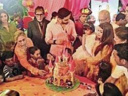 Photo : Inside Pics: Aaradhya Bachchan's Princess Party