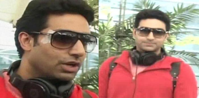Abhishek Bachchan injured while shooting his new film