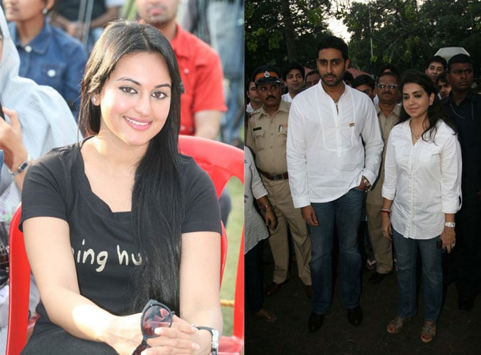 Abhi, Sonakshi pay tribute to 26/11 martyrs