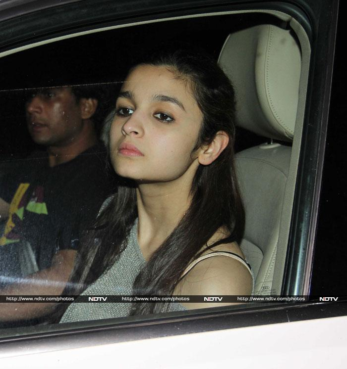 ... , we caught a real good look at Bollywood actress Alia Bhatt