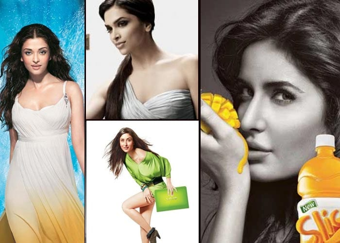 Top 10 actresses in advertisements