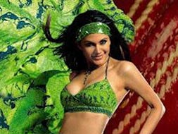 Photo : A blast from Mandira's modeling past
