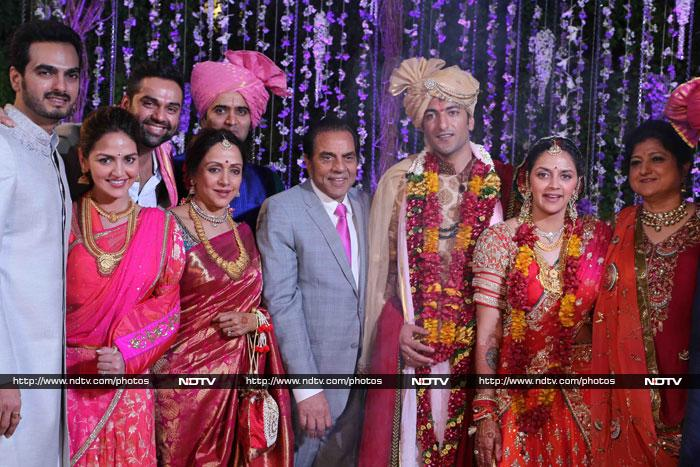 Ahana s half brothers sunny and bobby deol skipped the celebrations