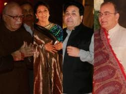 Photo : Political VIPs at Ahana Deol's Delhi reception