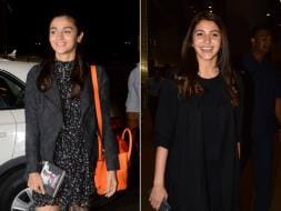 Photo : Alia Bhatt And Anushka Sharma's Love For Black