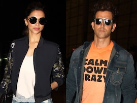 High Flyers: Deepika Padukone, Hrithik Roshan Leave for IIFA