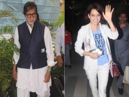Photo : Airport Traffic: Big B and a Queen