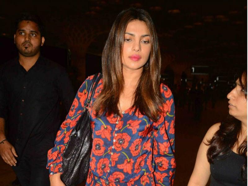 Jet Set Go: Priyanka Chopra Is Off On A Birthday Vacation