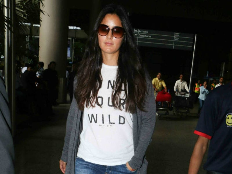 Katrina Kaif Sports A Comfy Look At The Airport