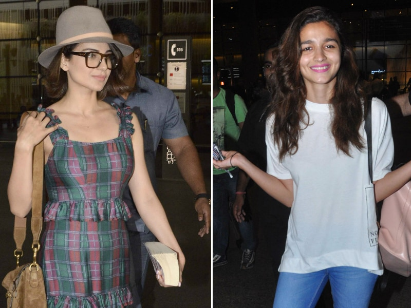 Kangana, Alia's Stylish Fashion Game at the Airport