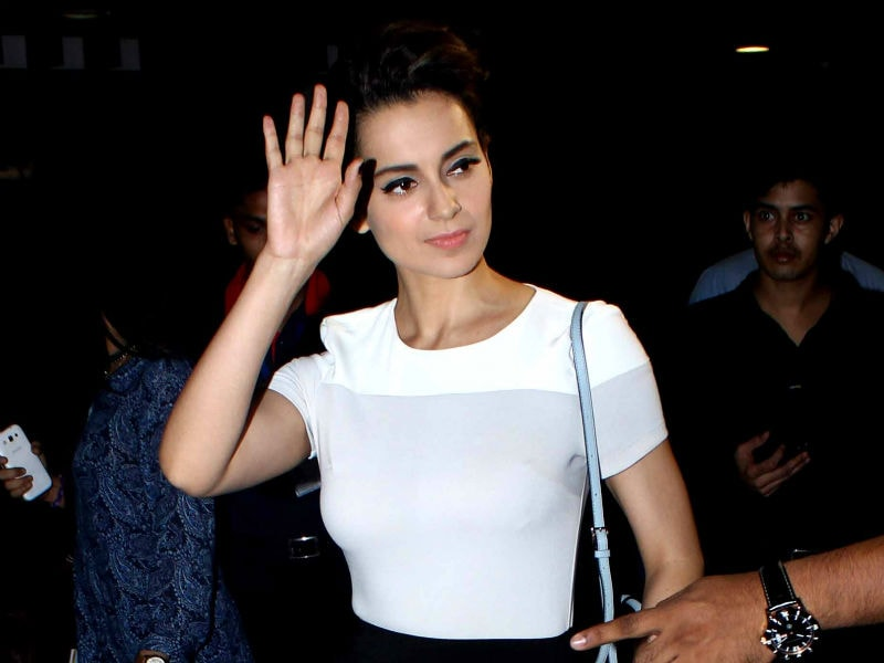 Queen Kangana Ranaut Leads Celeb Swagger at the Airport