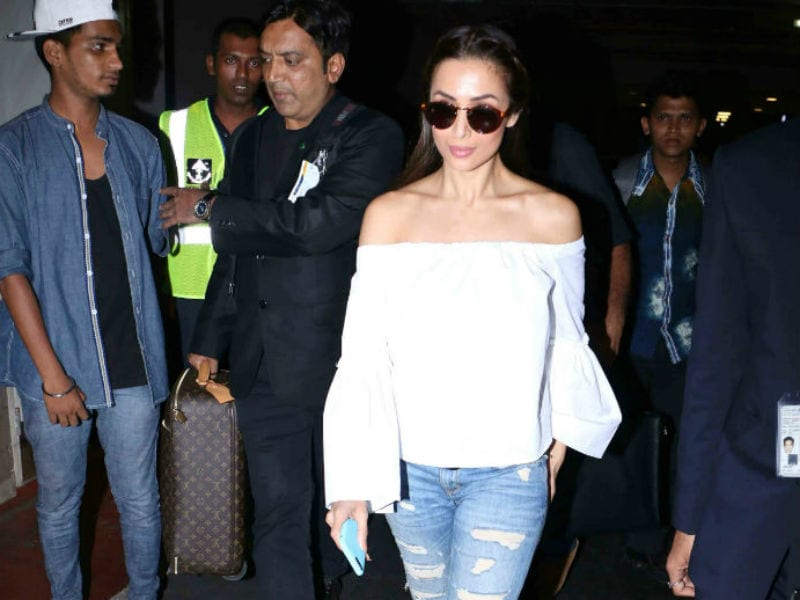Malaika Arora And Jacqueline Fernandez Nail The Airport Look
