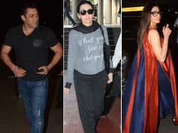 Photo : A Superstarry Airport With Salman Khan, Sridevi, Karisma