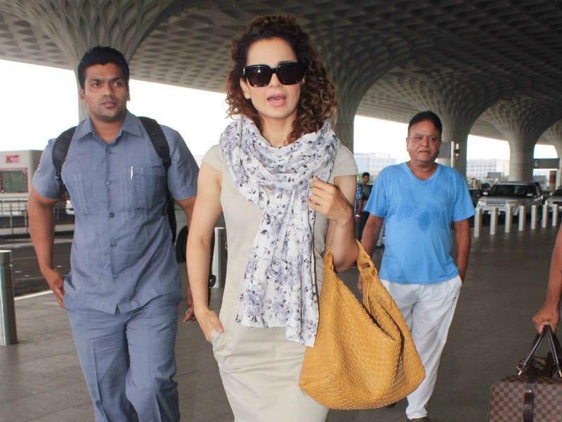 Kangana, Sunny Leone And Shilpa Shetty Travel In Style
