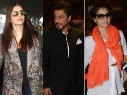 Photo : Aishwarya, Shah Rukh, Kajol's Airport Diaries