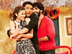 Photo : Shahid, Alia, Kapil's Shaandaar Comedy