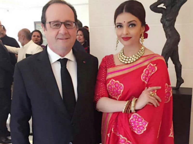 When Aishwarya Met French President Hollande