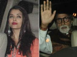 Photo : Aishwarya Rai's Outing With Amitabh Bachchan