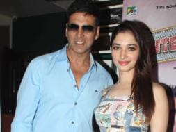 Photo : All About Entertainment: Akshay Kumar, Tamannaah Bhatia
