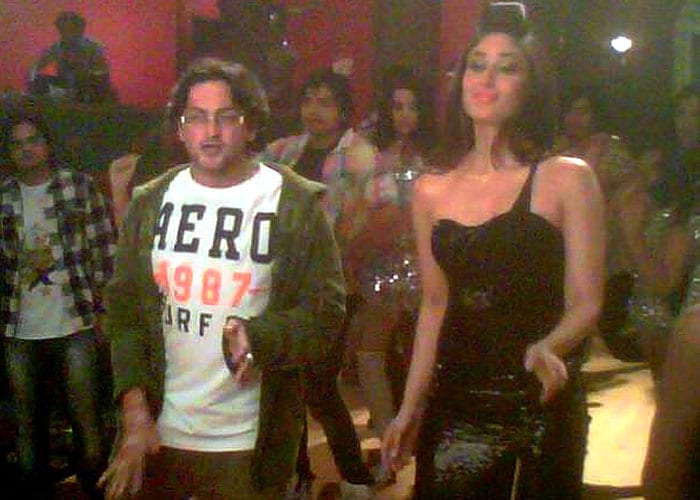 Kareena shoots item song for Rowdy Rathore