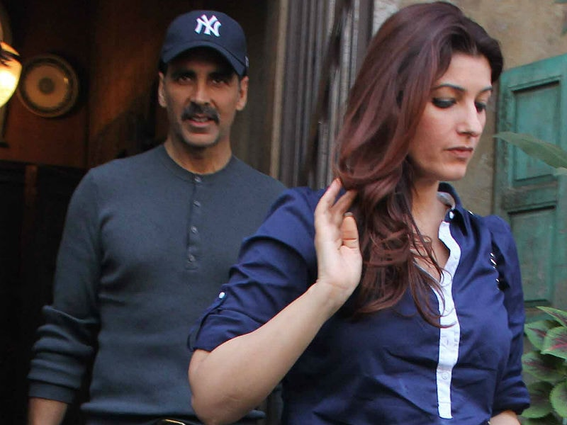 Akshay Kumar, Twinkle Khanna's Day Out With Kids