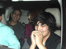 Fun at the Movies: Akshay, Twinkle, Aarav