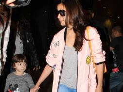 Photo : Dear Zindagi, We Love Alia Bhatt And AbRam's Cute Airport Tales