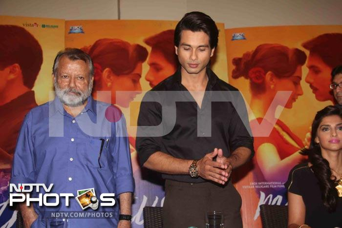 Shahid-Sonam clear the air on Mausam