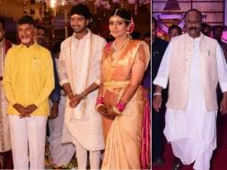 Photo : Political Bigwigs and Southern Stars at Allari Naresh's Wedding