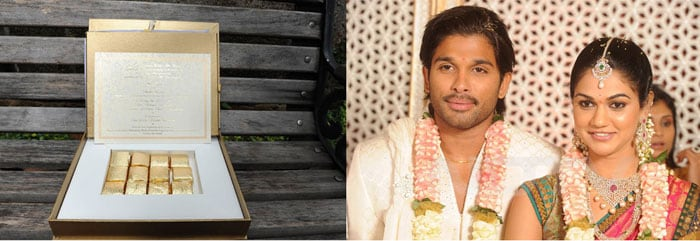 Allu Arjun's Wedding Invite