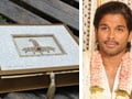 Photo : Allu Arjun's Wedding Invite