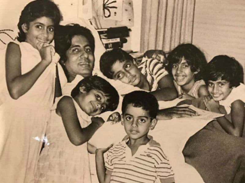 22 Pictures From Amitabh Bachchan's Family Album That You Would Love To See