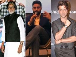 Photo : TE3N Ki Kahaani: What Big B, Abhishek And Hrithik Did on Friday
