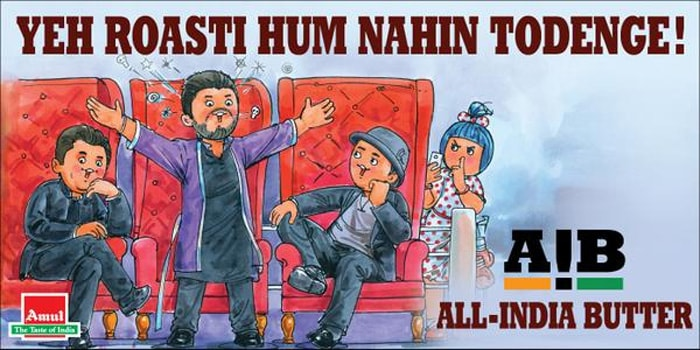 The AIB Roast, Amul-Style