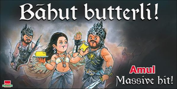Amul Raises a Toast to <i>Baahubali</i>