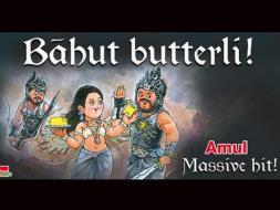 Photo : Amul Raises a Toast to Baahubali
