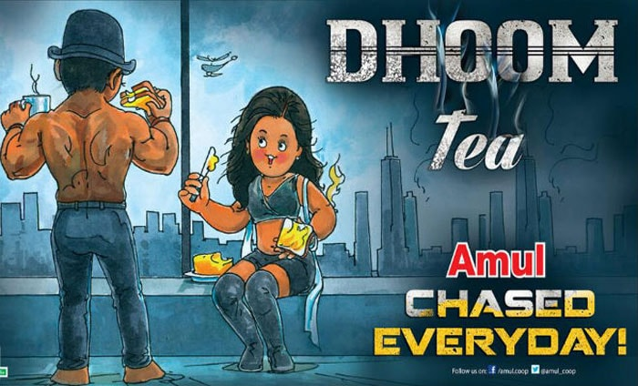 Amul toasts Aamir's <i>Dhoom: 3</i>