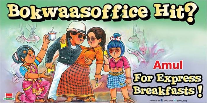 Amul toasts <i>Chennai Express</i>