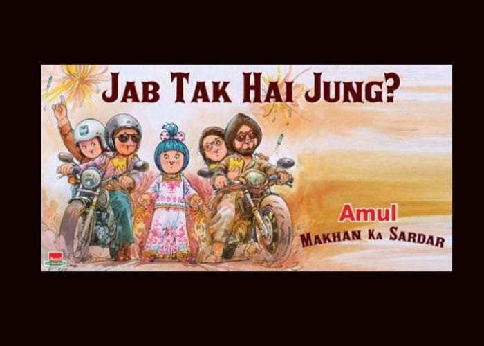 Give peace a chance, Amul tells Bollywood
