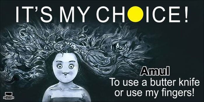 Amul's Utterly Butterly Take on Deepika's 'My Choice' Video