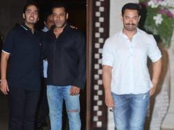 Photo : Salman, Aamir Party on Saturday Night