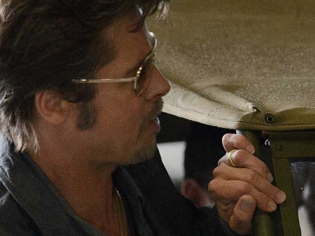 Look What We Spotted: Brad Pitt's Wedding Ring