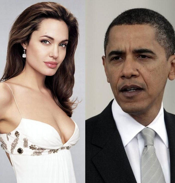 Angelina Jolie 'hates' Obama