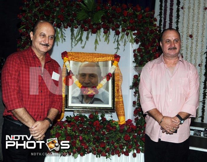 Anupam Kher's unique memorial for dad