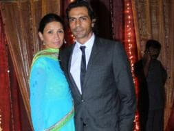 Photo : Arjun & Mehr at Thackeray engagement