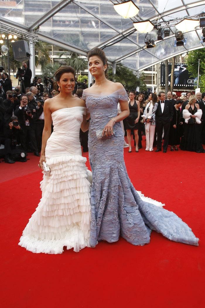 [Photos]Aishwarya à de l'ouverture du Festival de Cannes 2010