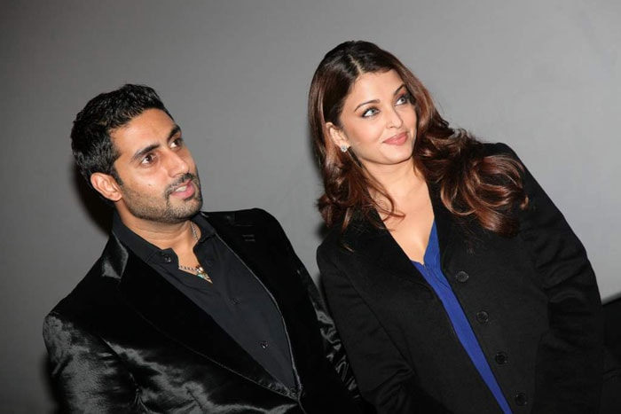 Ash, Abhi at Robot's London premiere
