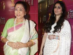 Photo : Asha Bhonsle Celebrates 83rd Birthday With Tabu
