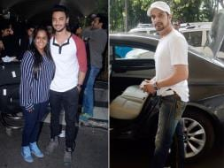 Photo : At the Airport: Arpita, Aayush and a Gangster